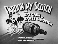 Pardon My Scotch