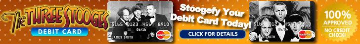 The Three Stooges Debit Card Footer 2