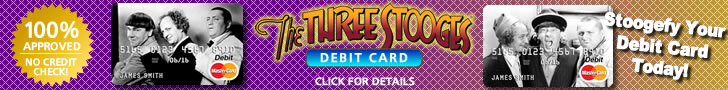 The Three Stooges Debit Card Footer 3