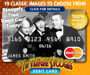 The Three Stooges Debit Card Ad 2