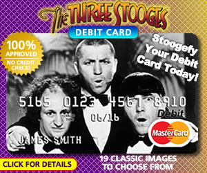 The Three Stooges Debit Card Ad 3