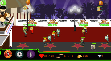The Three Stooges Zombie Defense Gameplay