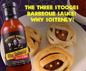 Three Stooges Halloween Recipe Why Soitenly Barbeque Sauce