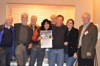 The Alex Film Society Crew: Bill Hogan, James Gleason, Frank Gladstone, Linda Harris, John Goodwin, Stephen McCoy, Nora Mossessian, Randy Carter