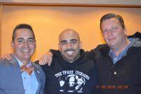 Brad Server (Curly's Grandson), Kurt Lamond (Larry Fine's great grandson), Steve Joiner