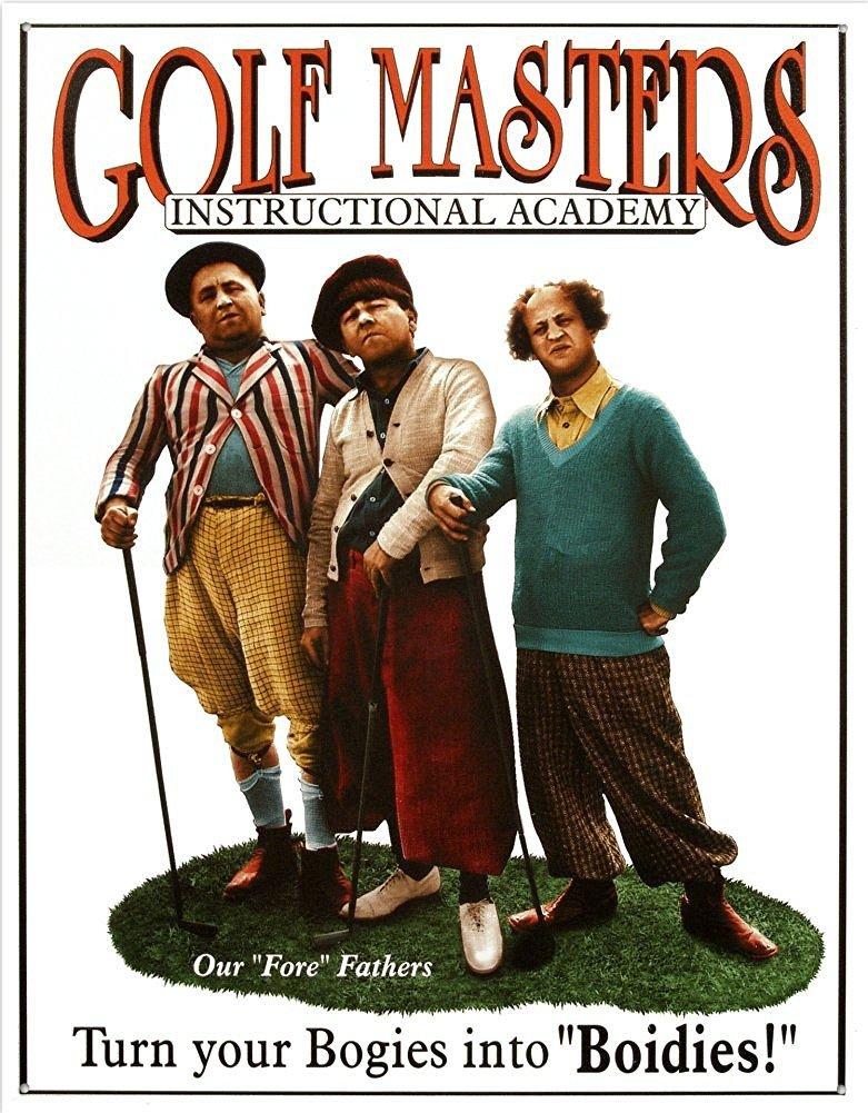 golfmastersTinSign