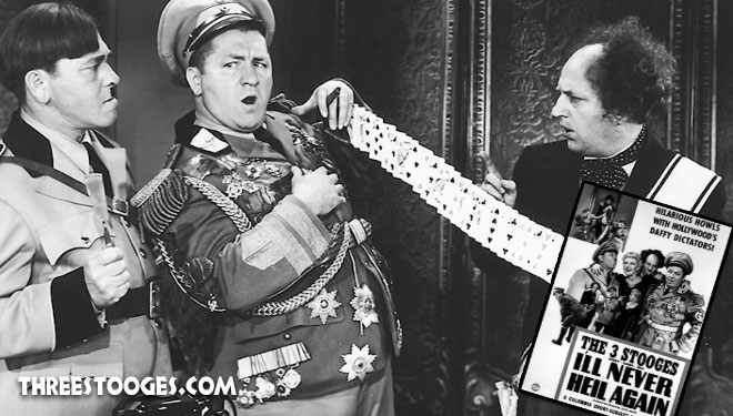 a history of the three stooges From 1934 to 1944, curly howard and the other stooges made 80-odd of the  funniest shorts in the history of movie comedy, but by 1945 something was.