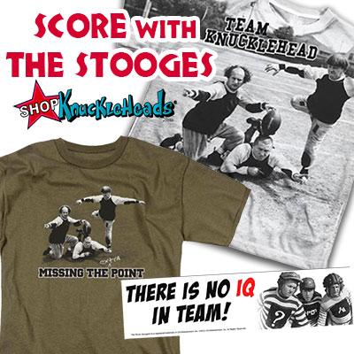 The Three Stooges football Merchandise