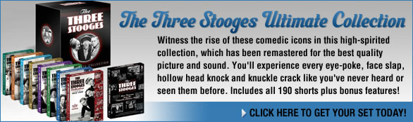 The Three Stooges Ultimate DVD Collection