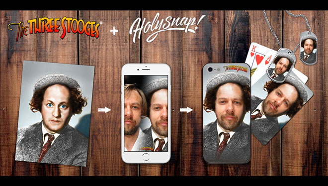 Stoogify Yourself With HolySnap Photo App