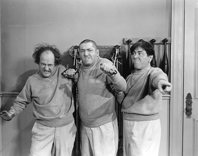 Fitness With The Three Stooges Is A Laughing Matter!