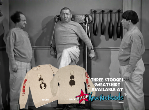 Fitness With The Three Stooges in I'm a Monkey's Uncle