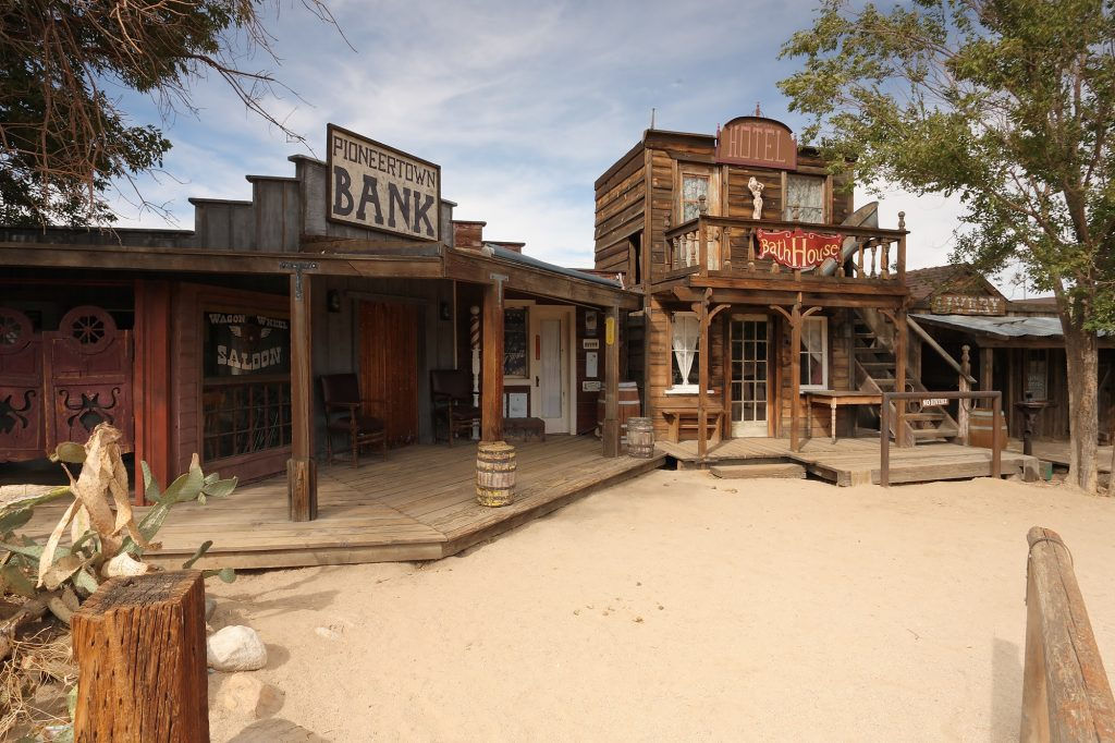 Pioneertown co-founded by Three Stooges actor Dick Curtis