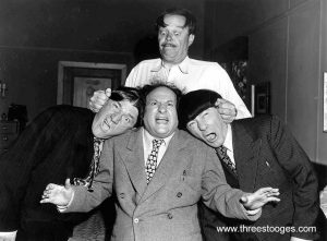 The Three Stooges with Dick Curtis
