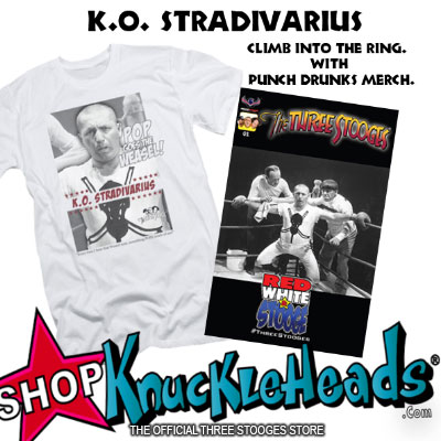 The Three Stooges Punch Drunks merchandise