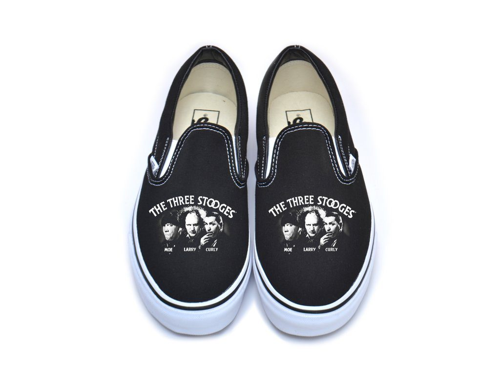 the three stooges vans sneakers