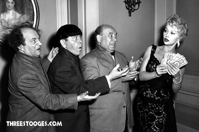 The Three Stooges with Greta Thyssen Whiz Quizz