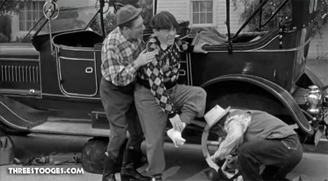 The Three Stooges Filmography Pardon My Clutch