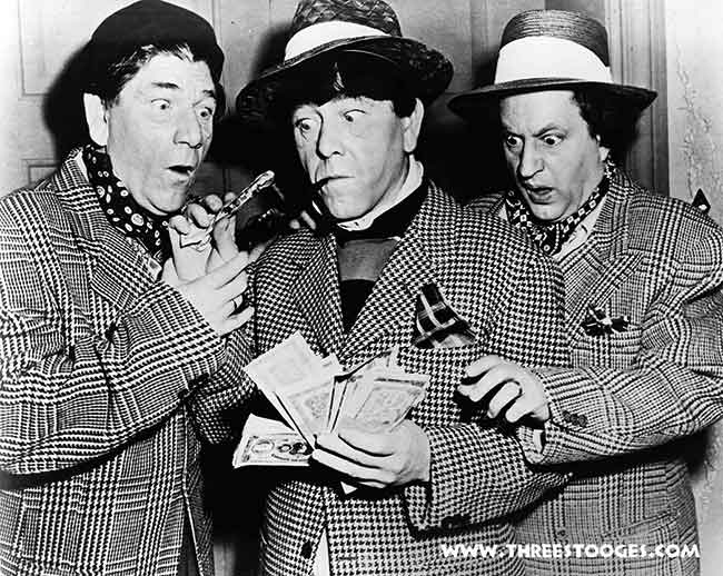 The Three Stooges in Studio Stoops