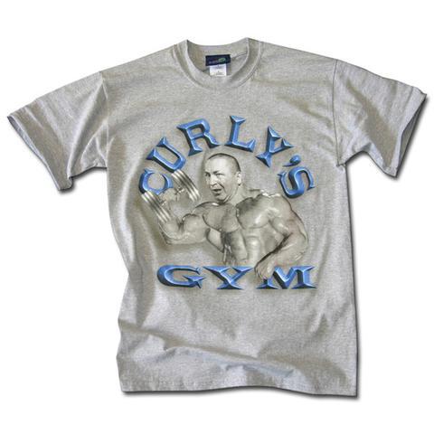 Curly's Gym T-shirt ThreeStooges.com