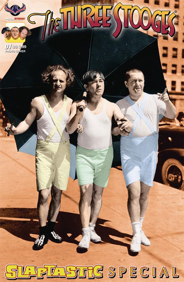 The Three Stooges Slaptastic Comic Books