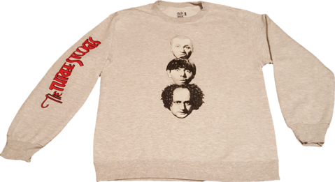 The Three Stooges coming and going sweatshirt ThreeStogoes.com