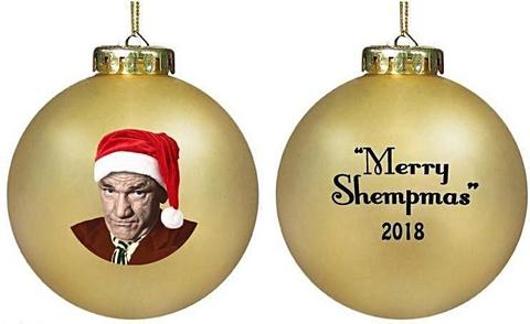 The Three Stooges Shemp Christmas Ornament