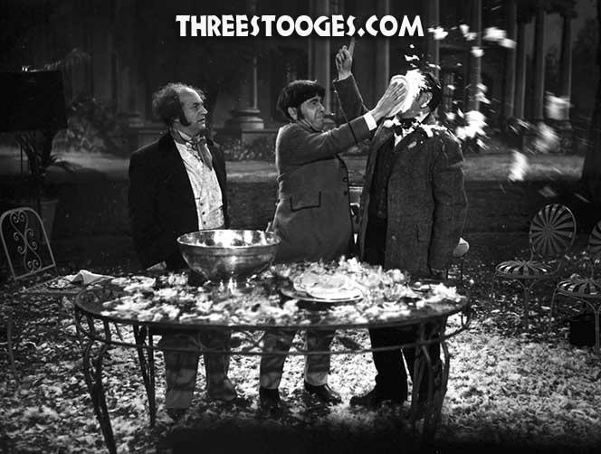 The Three Stooges Filmography - Three Hams on Rye (September 1950)