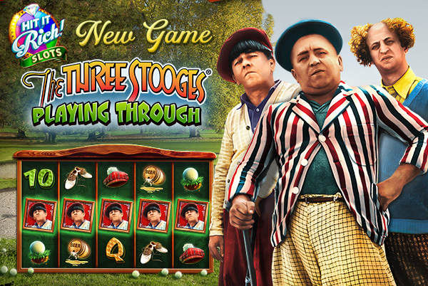 New Hit It Rich Casino Slots Featuring The Boys The Three Stooges